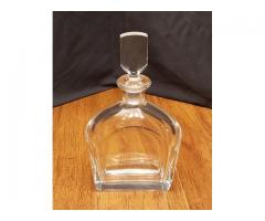 Signed Orrefors Crystal Decanter With Stopper