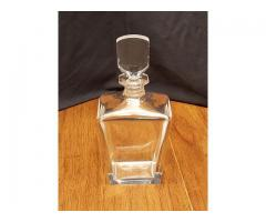 Signed Orrefors Crystal Decanter With Stopper 154-05