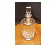 Signed Orrefors Crystal Decanter With Stopper 154-06