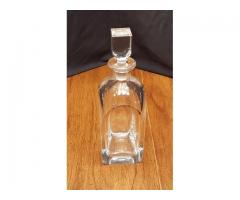 Signed Orrefors Crystal Decanter With Stopper 154-07