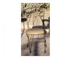 Wrought Iron Southwestern Chair