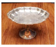 International Silver Co. Silverplate Compote Chippendale