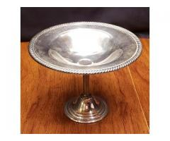 WM Rogers Silverplated Footed Compote Dish Stand